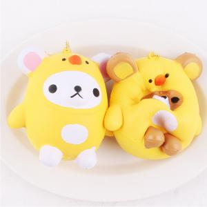 Jumbo Squishy Squeeze Bear PU Collection Gift Soft Toy -