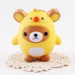 Jumbo Squishy Squeeze Ourse PU Collection cadeau peluche -