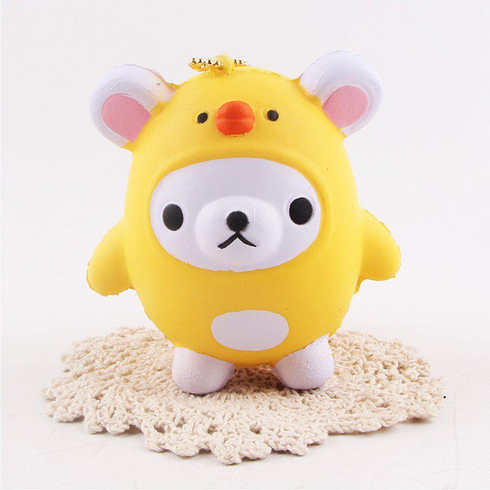 Affordable Jumbo Squishy Squeeze Bear PU Collection Gift Soft Toy