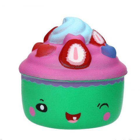 Latest Jumbo Squishy Slow Rising Cute Cartoon Icecream Toys Stress Collectibles