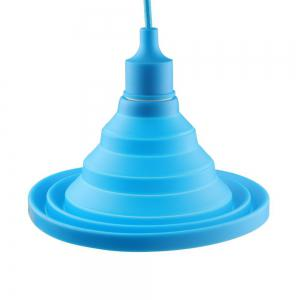 Cartoon Silicone Foldable Pendant Lamp for Living Room Restaurant (Bulb Not Included) -