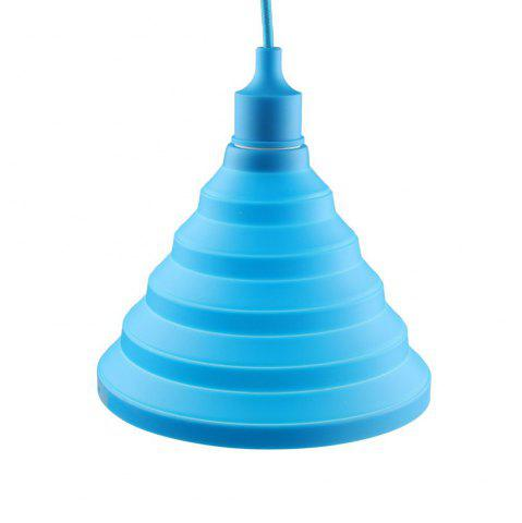 Latest Cartoon Silicone Foldable Pendant Lamp for Living Room Restaurant (Bulb Not Included)