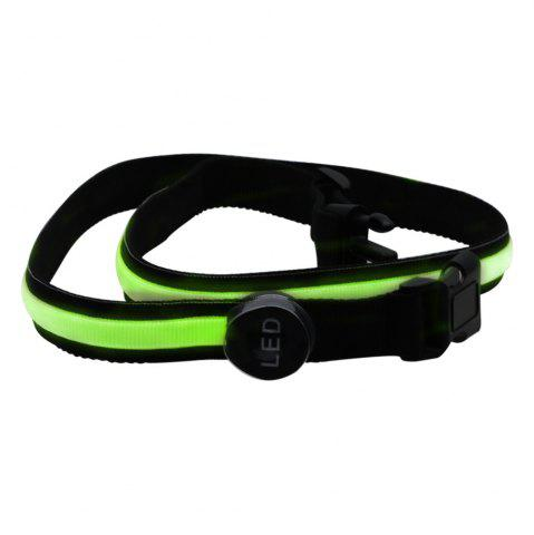 Hot YWXLight Safety Reflective Luminous Waistband LED Bike Jogger Runway Flashing Belt