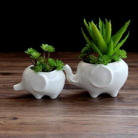 Latest Creative Pots Succulents Elephant Shaped Ceramic Flower Pot Ceramic Home Decor