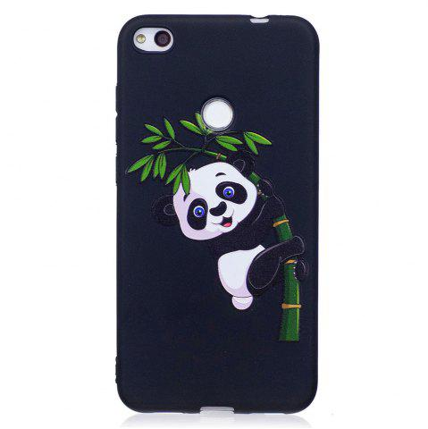 Buy Relief Silicone Case for Huawei P8 Lite 2017 Bamboo Panda Pattern Soft TPU Protective Back Cover