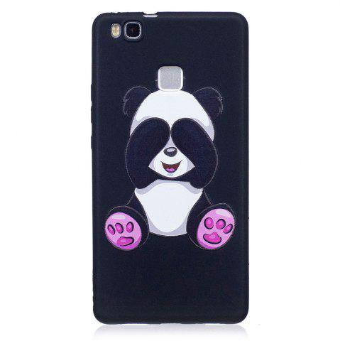 Online Relief Silicone Case for Huawei P9 Lite Panda Pattern Soft TPU Protective Back Cover