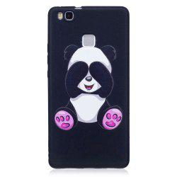 Relief Silicone Case for Huawei P9 Lite Panda Pattern Soft TPU Protective Back Cover -