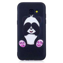 Relief Silicone Case for Samsung Galaxy A5 2017 Panda Pattern Soft TPU Protective Back Cover -
