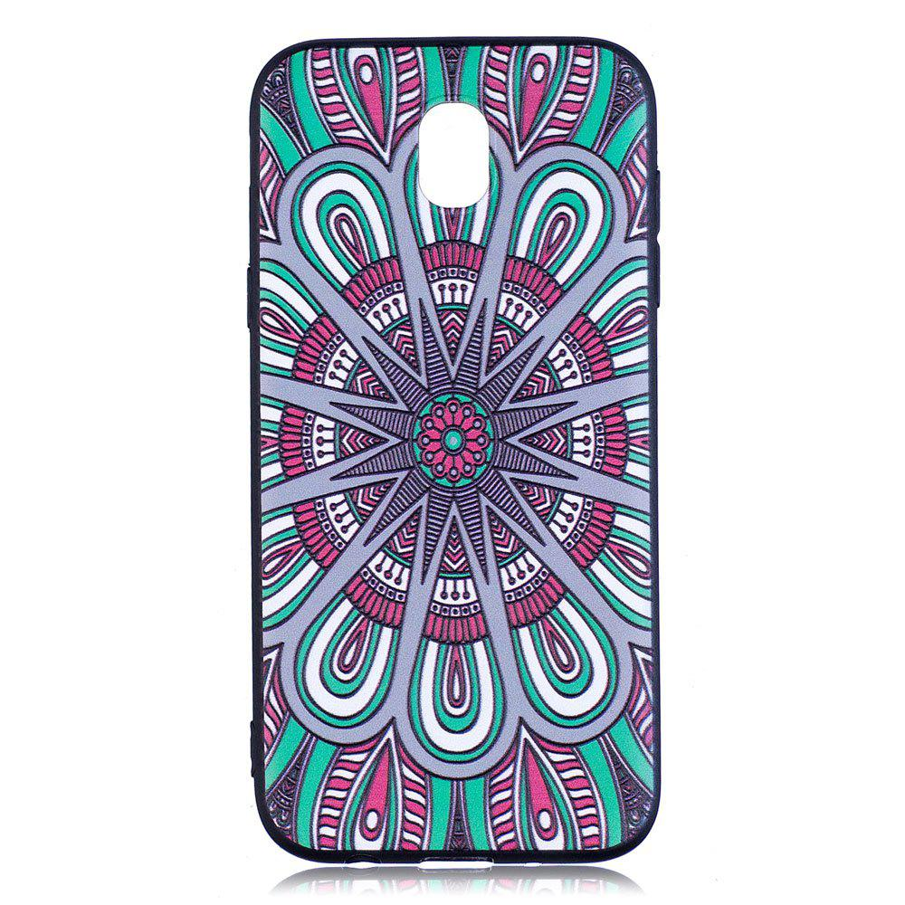 Chic Relief Silicone Case for Samsung Galaxy J5 2017 / J530 Mandala Pattern Soft TPU Back Cover Europe Version