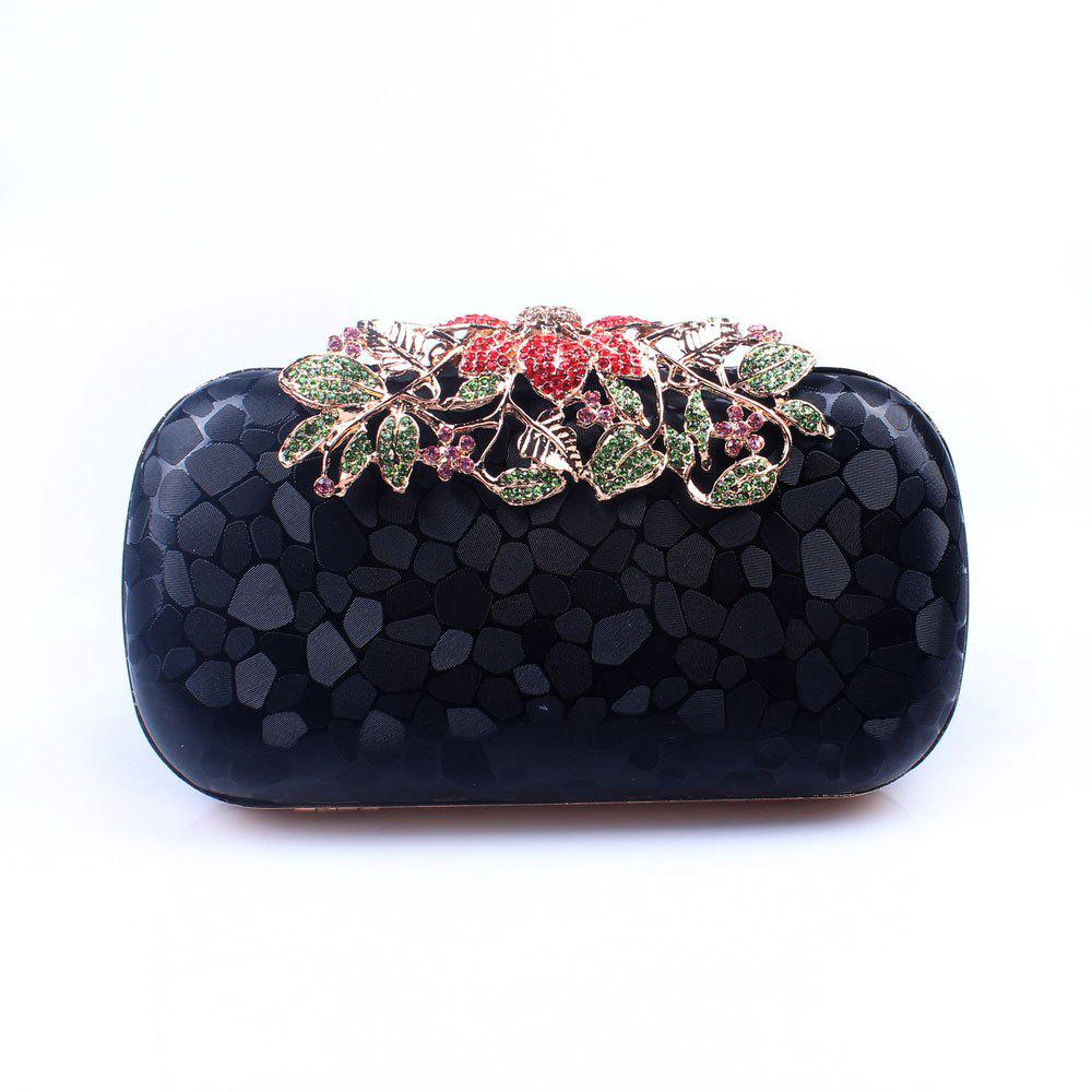 Buy Women PU Evening Bag Crystal Rhinestone Wedding Event Party Formal