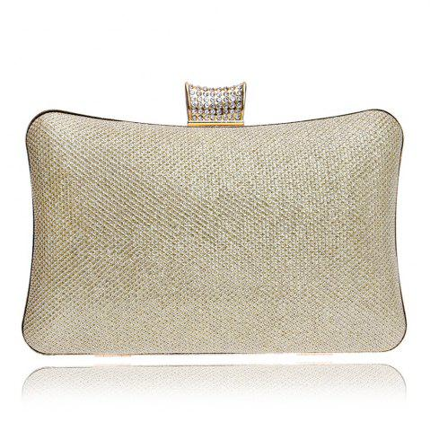 Outfit Women PU Bags Leatherette Evening Bag Buttons Crystal Detailing Wedding Event Party