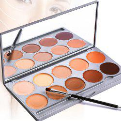10 couleurs Lady Make Up Cottect -