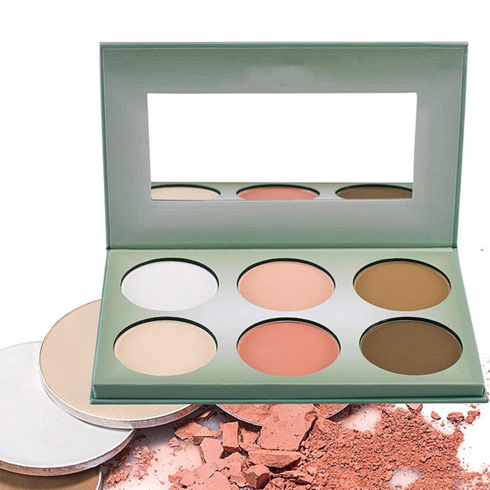 Store 6 Colors New Generation Pressed Powder