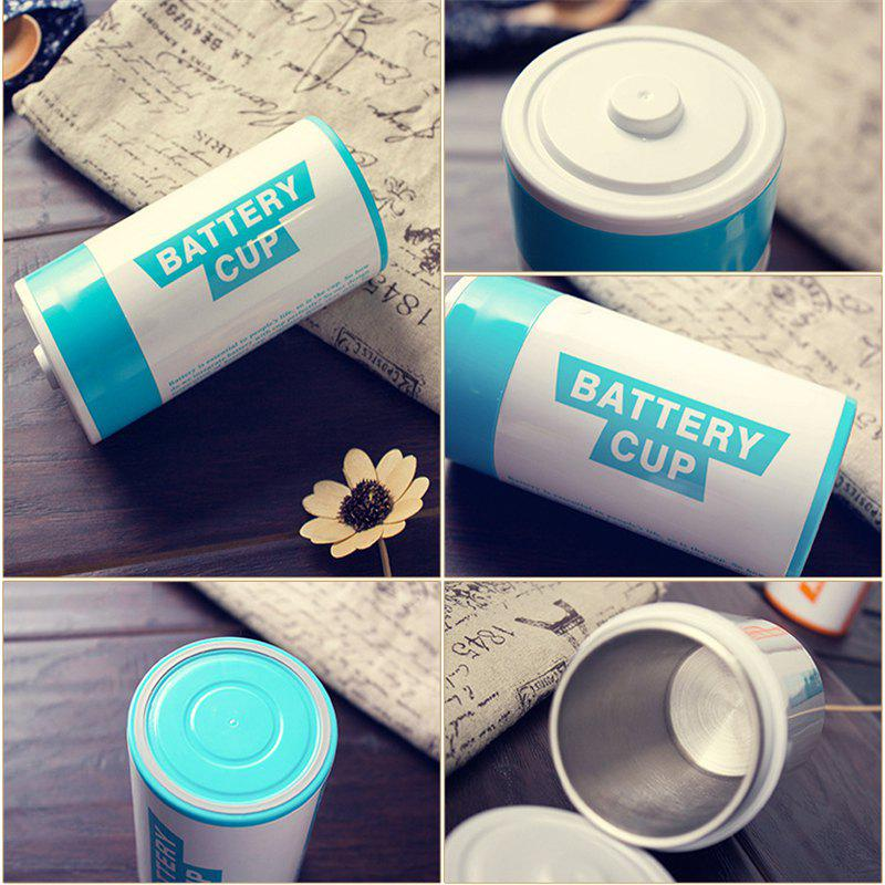 Hot Creative Battery Shape Insulation Stainless Steel Cup