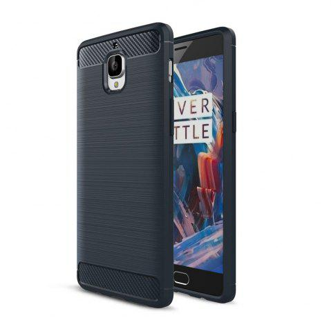 Корпус для OnePlus 3 / 3T Luxury Carbon Fiber Anti Drop TPU Мягкая обложка