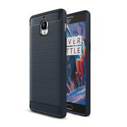 Корпус для OnePlus 3 / 3T Luxury Carbon Fiber Anti Drop TPU Мягкая обложка -