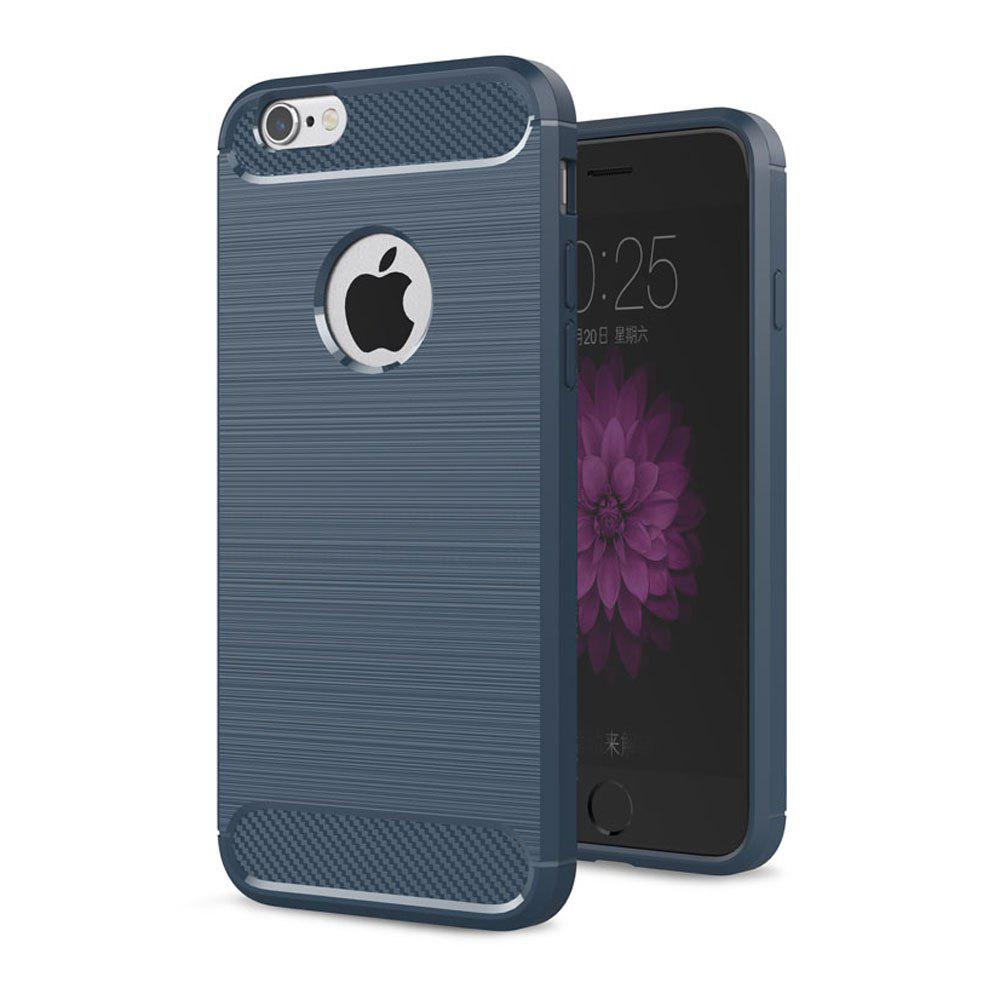 Hot Case for iPhone 6 / 6S Luxury Carbon Fiber Anti Drop TPU Soft Cover