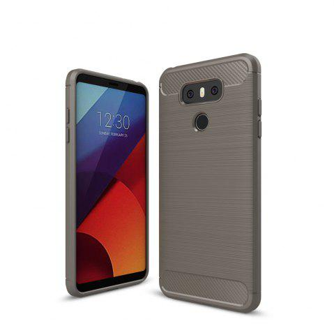 Store Case for LG G6 Luxury Carbon Fiber Anti Drop TPU Soft Cover