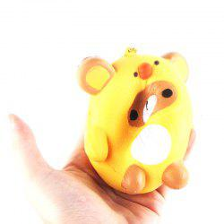 Jumbo Squishy PU Slow Rising Stress Relief Pendant Toy Replica Cartoon Chick for Adults -