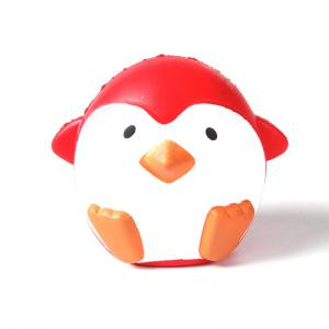 Jumbo Squishy PU Slow Rising Stress Relief Toy Replica Красный пингвин для взрослых -