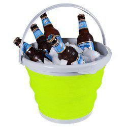 5L Collapsible Bucket for Storing / Cleaning / Carrying / Cooling Use -
