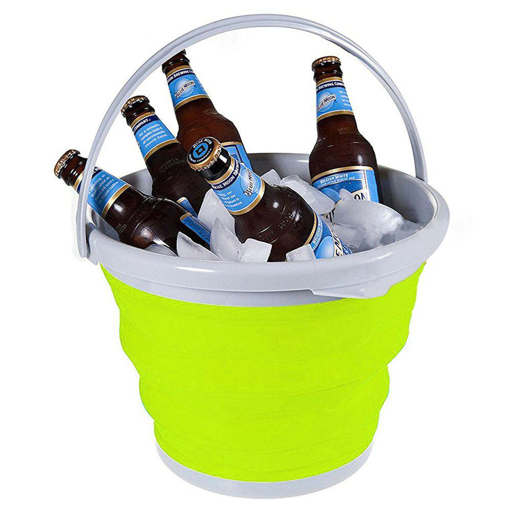Store 5L Collapsible Bucket for Storing / Cleaning / Carrying / Cooling Use