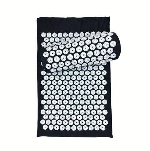 Online Massager Cushion Relieve Acupressure Mat Body Pain  Spike Yoga with Pillow