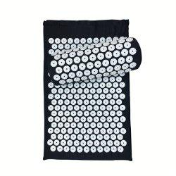 Massager Cushion Relieve Acupressure Mat Body Pain  Spike Yoga with Pillow -