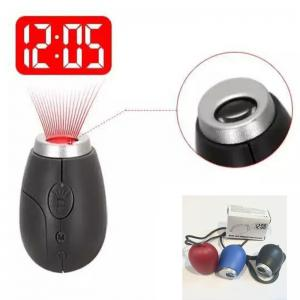 Mini Digital Projection LED Portable Clock -