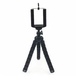 Universal Compact Tripod Stand Flexible Octopus Phone Camera Selfie Stick Tripod Mount for Smartphone/Digital Camera -