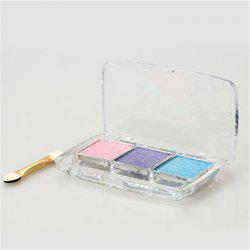 Eyeshadow Pallete Make Up Earth Glitter Waterproof Lasting Easy to Wear -