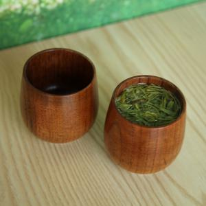 Chinese Style Handmade Natural Wooden Tea Cups Drinkware Kitchen Gadgets Accessories -