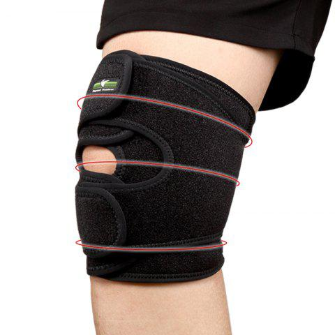 Cheap Vepeal Double Pressurized Fixed Patella Climbing Professional Kneepad