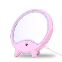 LED Makeup Mirror Light Adjustable with Mist Sprayer Design -