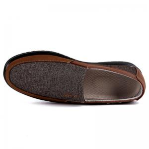 Men Large Size Breathable Anti-skid Loafers Cloth Shoes -