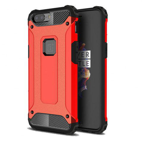 Affordable Armor Phone Case for OnePlus 5 Shockproof Protective Back Cover