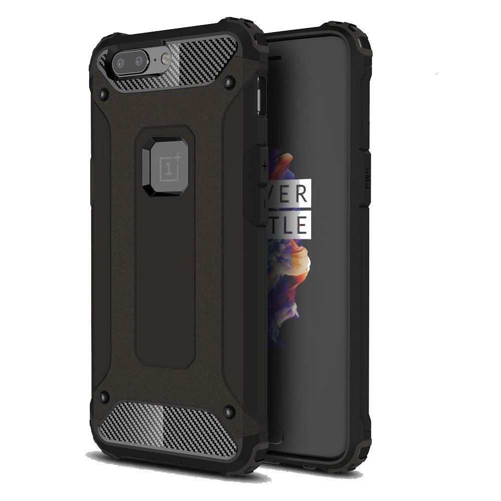 Unique Armor Phone Case for OnePlus 5 Shockproof Protective Back Cover