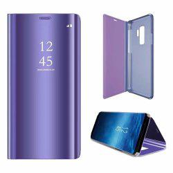 Чехол для Samsung Galaxy S9 Plus Зеркало Flip Leather Clear View Window Smart -