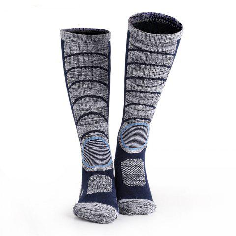 Fancy Long-Sleeve Ski  Thickening Mountaineering Socks