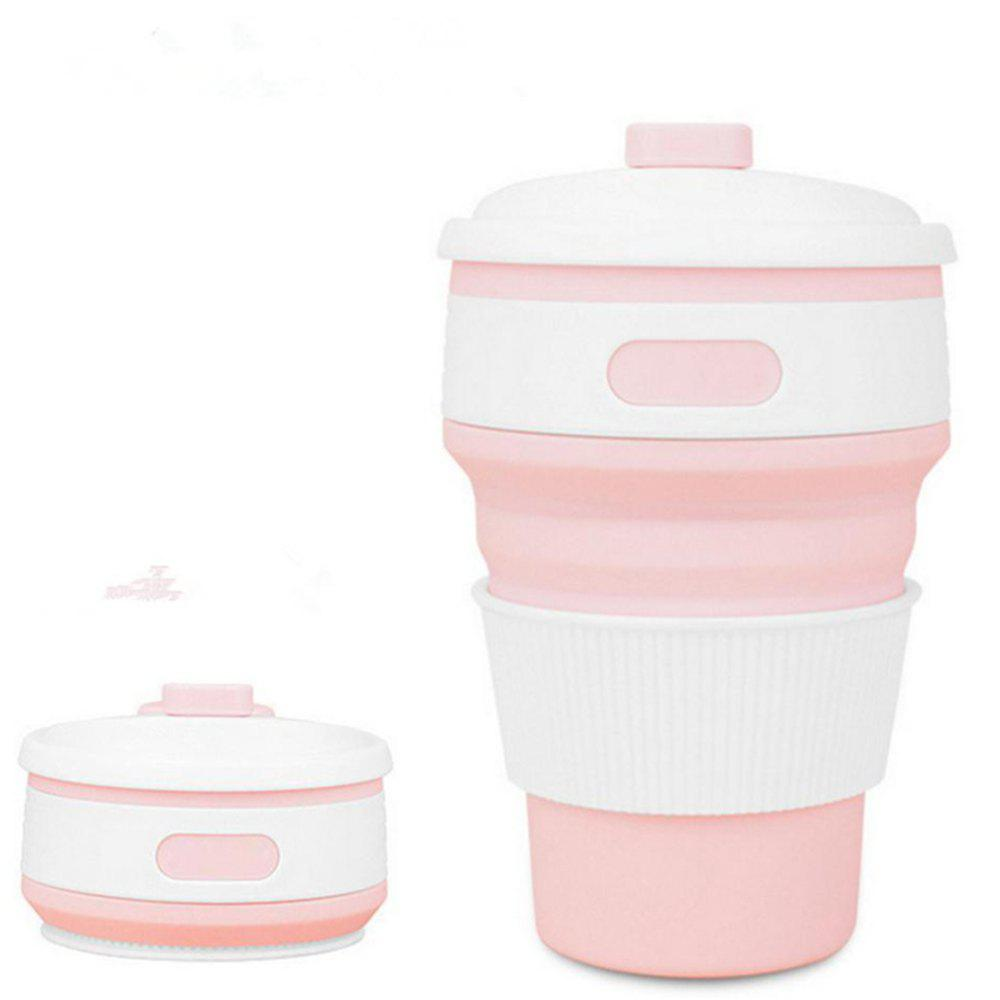 Buy 350ML Portable Coffee Tea Bottle Folding Silica Gel Water Cup