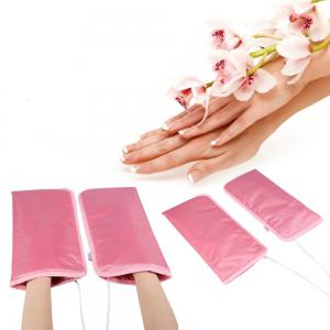 2pcs Electric Nail Art Manicure Gloves Infrared Wax Therapy Treatment SPA Warmer for Hand Care -