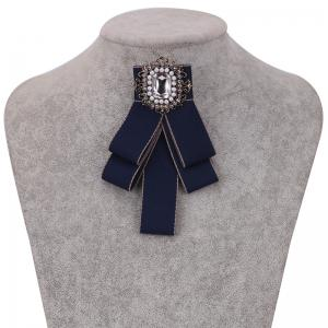 Fashion Acrylic Crystal Collar Homme Nep Kraagje Blouse Cloth Bow Tie Women -