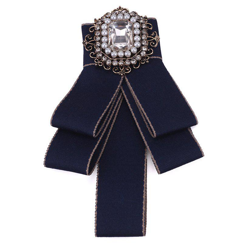 Best Fashion Acrylic Crystal Collar Homme Nep Kraagje Blouse Cloth Bow Tie Women