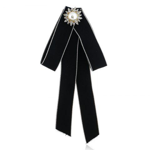 Affordable Fashion Bowknot Sequin Bow Tie for Women Wedding Tassel Ties