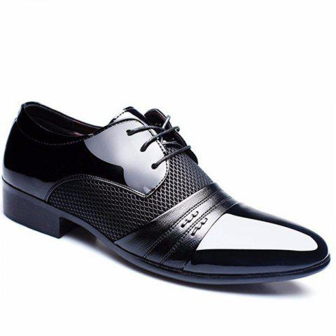 Homme formel pointu Lace Up Business Blucher Chaussures
