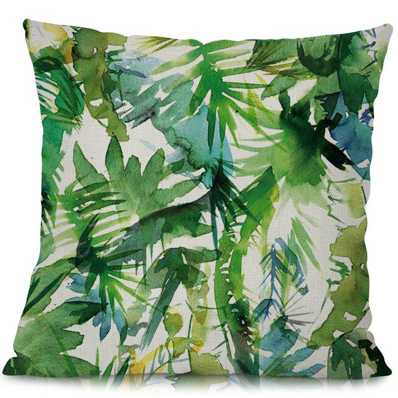 Best P1035 - 6 Modern Simple Pillow Plant Printed Car Sofa Soft Cushion Float Window Cover 45 x 45cm