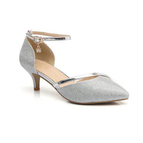 Chic Women Fashion  Pointed Buckle Comfortable Pumps Shoes