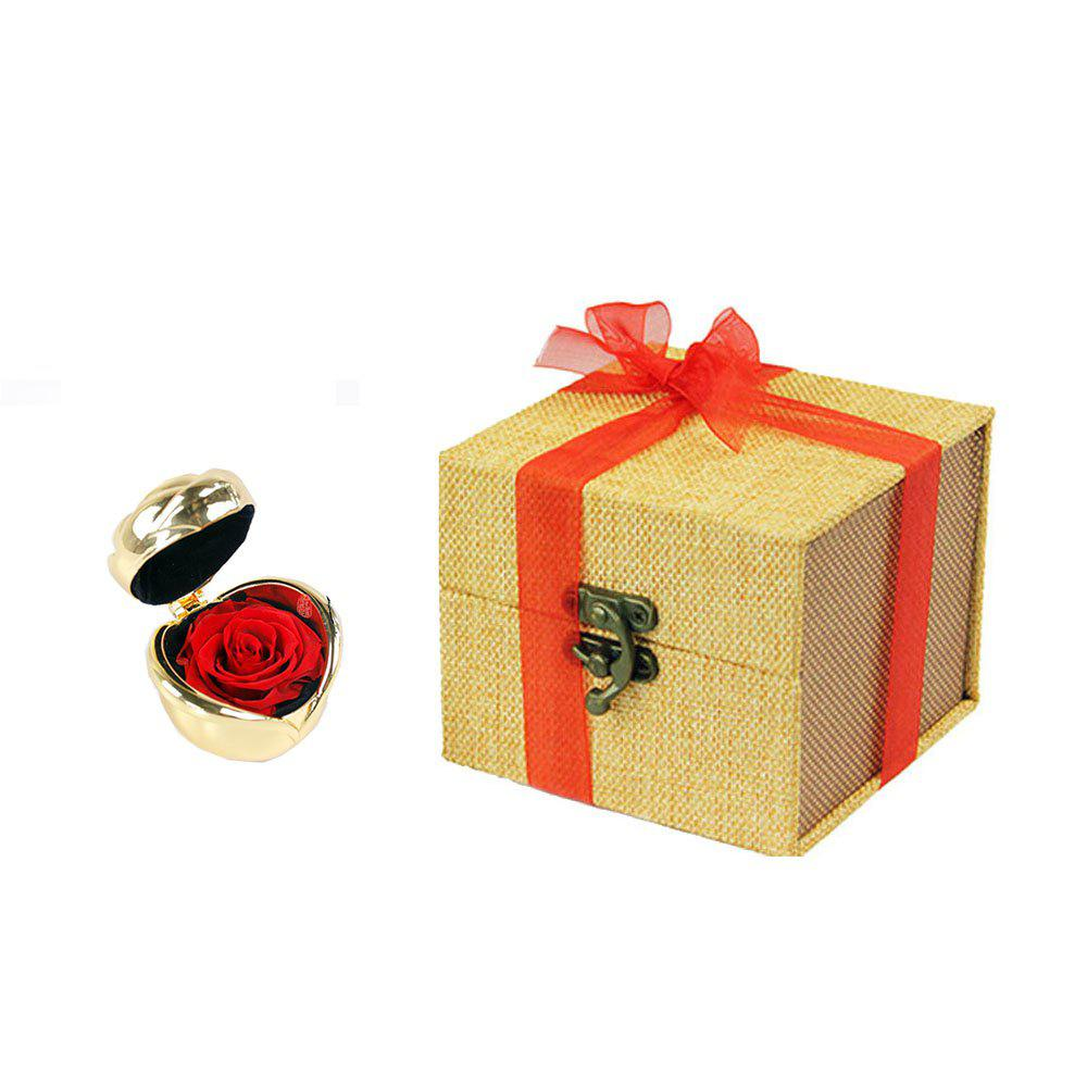 Fashion Fresh Preserved Rose Flower Wedding Home Birthday Party Gift