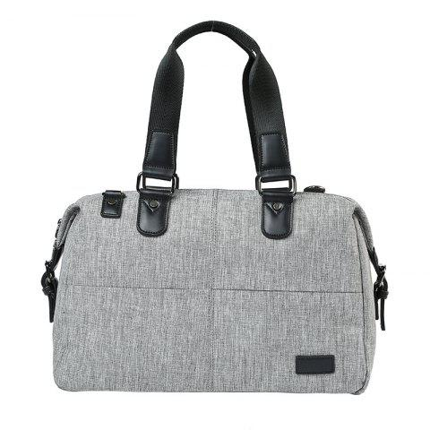 Outfit New Gray Canvas Portable Handbag Men Single Shoulder Bag Travel Fashion Small Tote