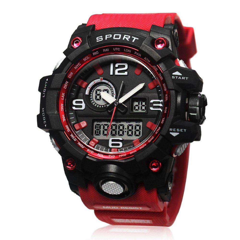 Affordable LED Multi-Functional Outdoor Waterproof Sports Watch